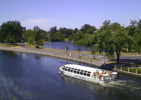 Tour Boat, Rideau Canal